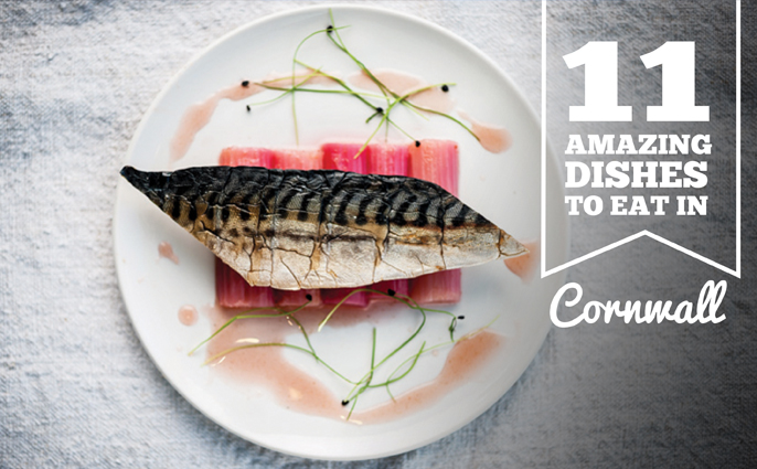 Amazing dishes in Cornwall
