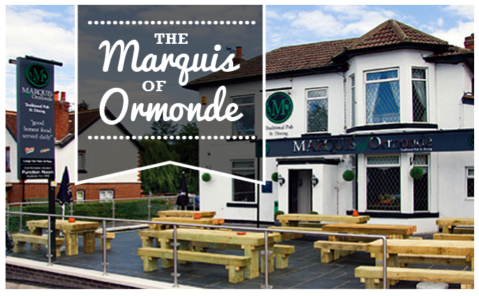 The Marquis of Ormonde HEADER