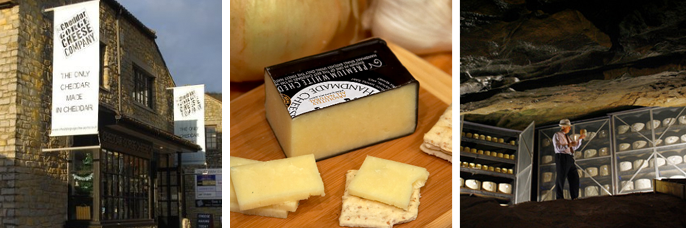 Authentic Cheddar cheese