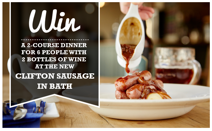 new clifton sausage in bath