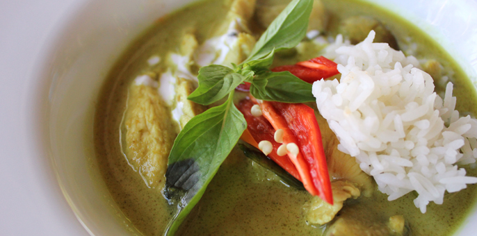 Whip up a classic green curry in no time at all