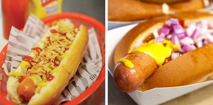 M-x2hot dogs