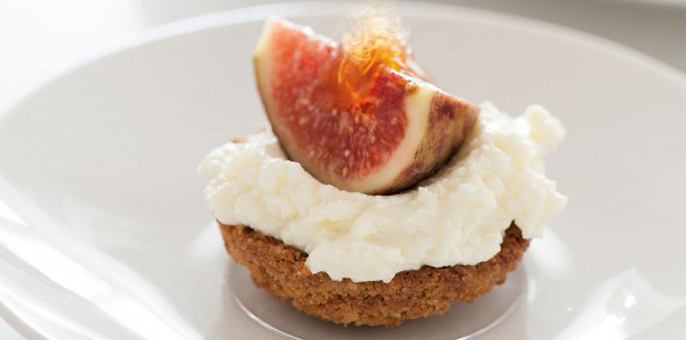 M-Ricotta Fig and Honey Tartlets