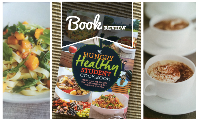 hungry healthy student cook book - book review - fi