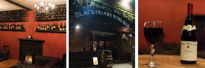 Blackfriars Wine bar