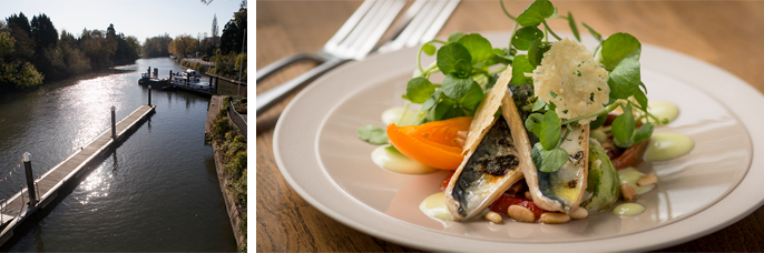 Based in Maidenhead, Berkshire - Boulters restaurant sets great food against a beautiful backdrop.