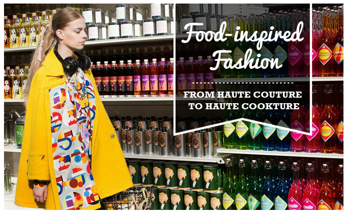 food inspired fashion