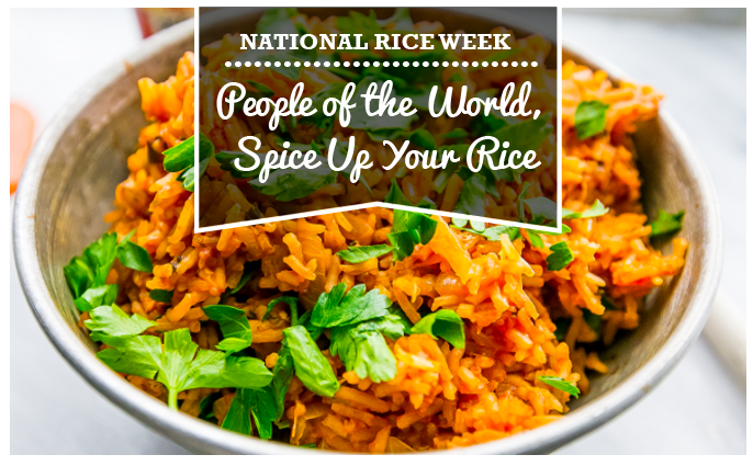 National Rice Week  Header