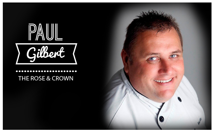 head chef Paul Gilbert