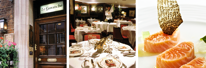 London's Michelin-starred restaurants, Le gavroche