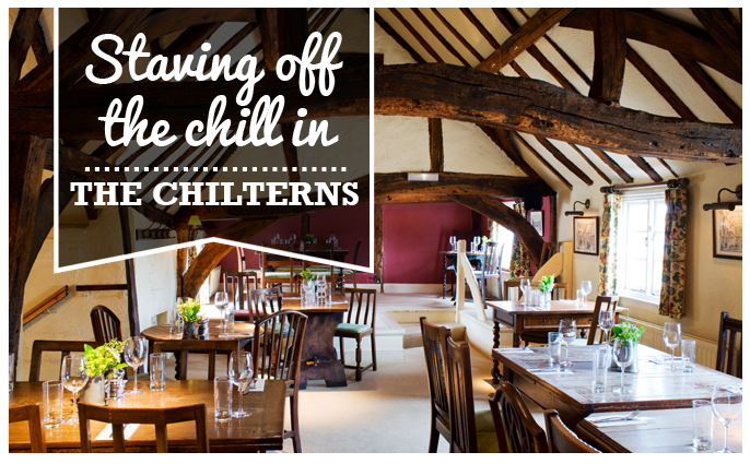 Pubs with open fires in the Chilterns