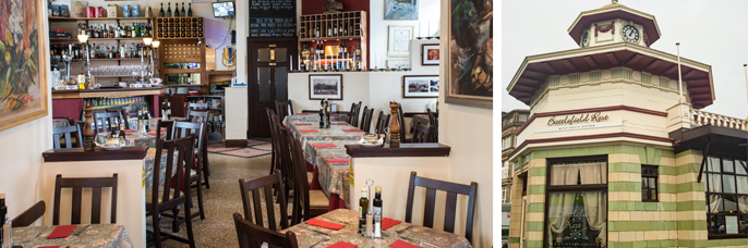 great places to dine in Glasgow: Battlefield Rest