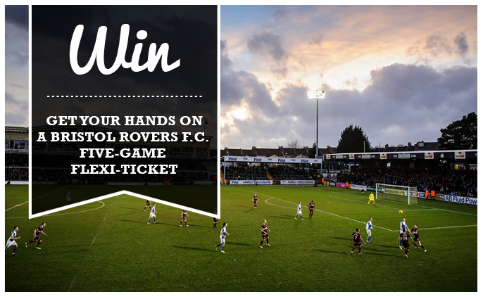 Win a Bristol Rovers five-game flexi-ticket