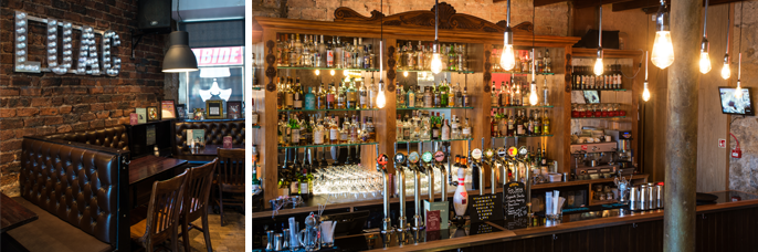 great places to dine in Glasgow: Lebowskis