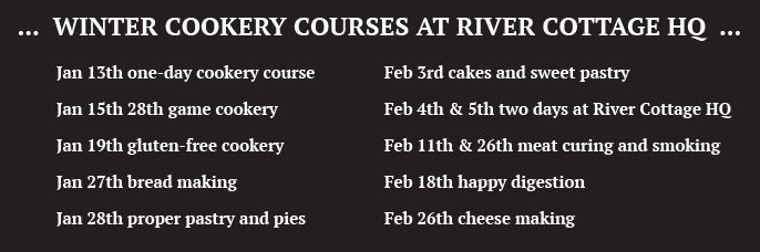 River Cottage courses