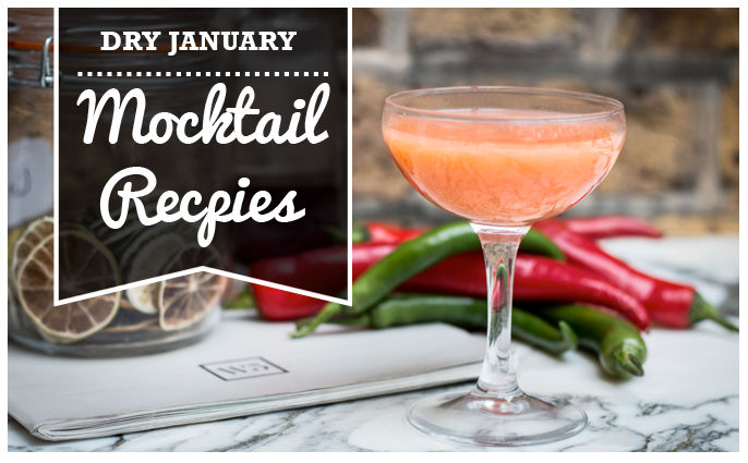 Dry January Mocktail Recipes