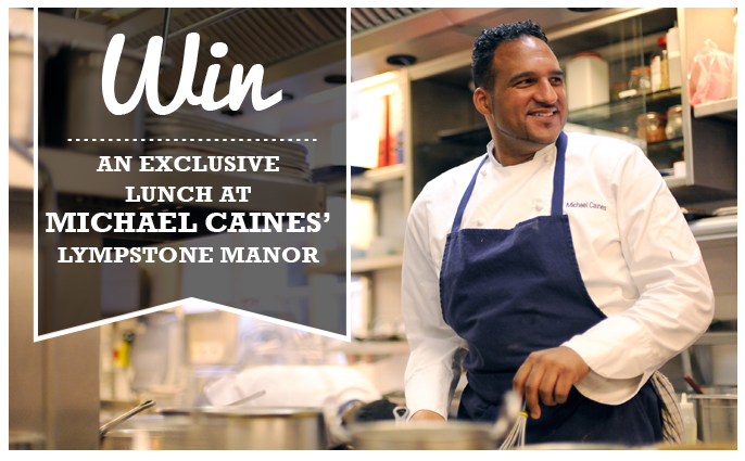 Win an Exclusive Lunch at Michael Caines' Lympstone Manor