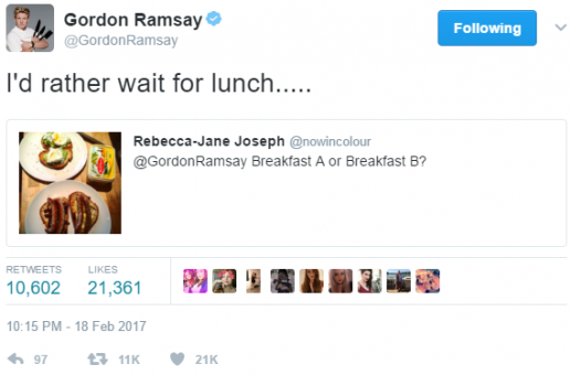 gordon ramsay lunch